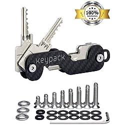 KEYPACK fibra de carbono organizador de llaves