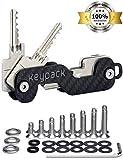 KEYPACK | Key Organizer und Schlüssel-Etui aus Carbon (1-16 Schlüssel)