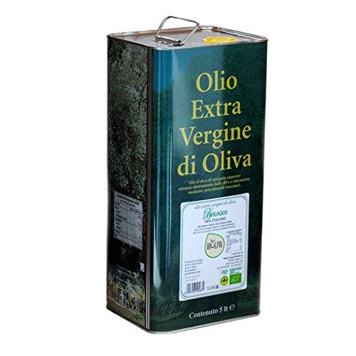 """Olio Extra Vergine di Oliva Biologico """"Bioliva"""" - Oleificio Toscano Morettini (Latta 5 lt)"""