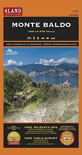 Monte Baldo. 1000 km mountainbike trails 1:25.000. Ediz. italiana, inglese e tedesca por Enrico Casolari