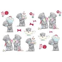 FunToSee Tatty Teddy Tea Party Room Stickers