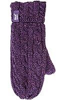 1 Paar Damen Wärme Inhaber Heatweaver thermische warme Mitten Handschuhe TOG 2.5 Lila S/M
