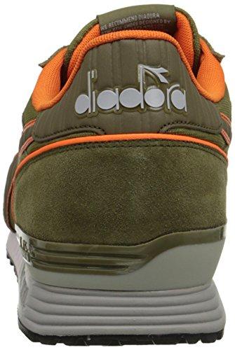 Diadora Titan Ii - Pompes à plateforme plate mixte adulte Kiwi Green
