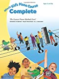 Best Instruction Book Evers - Alfred's Kid's Piano Course Complete: The Easiest Piano Review