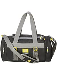 Hi-Speed Black Travelling Duffel Bag | Gym Bag | Sports Bags For Girls & Boys With Side Pockets