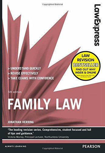 Law Express: Family Law by Jonathan Herring (2014-08-01)