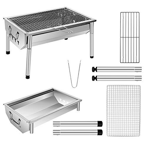 Zoom IMG-2 sunjas barbecue portatile a carbone