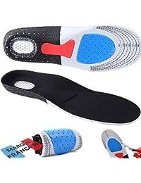 Takit Plantillas para Zapatos con Almohadillas de Gel - Alivia el Pie, Absorbe los Golpes - Perfectas para Deportes, Caminar, Correr, Senderismo - Para Hombres y Mujeres