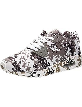 JOOMRA Unisex Camo Luftkissen Freizeit Sneaker 4 Farben 36-46
