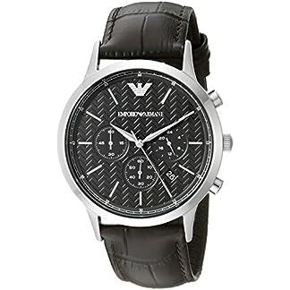 Emporio Armani Chronograph Black Dial Men's Watch-AR2482
