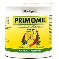 primomil 1000mg (Omega-6)–Nachtkerzenöl (1ière kaltgepresst) + Vitamin E (als D)–90sotfgels/Kapseln MOLLES