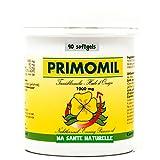 Ingrédients par softgel: Huile d'onagre (1ière pression à froid) 1000 mg -- Acide gamma-linolénique (8% GLA) 80 mg -- Vitamine E (d-alpha) (83,33 % AJR) 10 mg