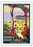 Monaco, Monte Carlo - Land der Sonne -