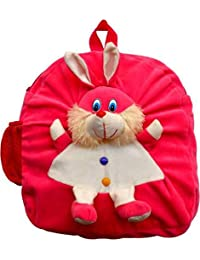 AVS Soft Toy Kids School Bag (Pink Color) - 40 Cm (Pink)