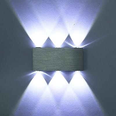 6 Up Down Aluminum Wall Lights