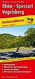 Rhön - Spessart - Vogelsberg: Motorradkarte mit Tourenvorschlägen, GPS-Tracks zum Gratis-Download,...