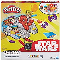 Play-Doh Star Wars Millennium Falcon con can-heads