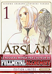 "Afficher ""Arslan, the heroic legend n° 1<br /> heroic legend of Arslân (The)"""