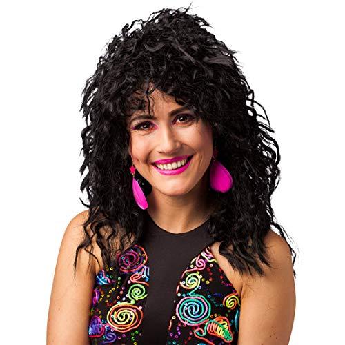 der-Ohrringe für Frauen | Neonpink | Schrilles Damen-Accessoire Neon-Ohrschmuck | Ideal für Fasching & Mottoparty ()