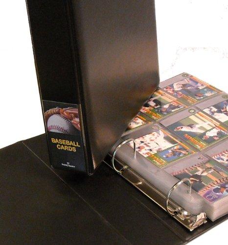 Baseball-Karte sammeln Starter Kit-Album, Seiten, Ärmel, toploaders, mini-snap Inhaber und Aufbewahrungsbox-Alles, was Sie brauchen, um Speichern und Schützen Ihre Sport Karte Collection-by Hobbymaster