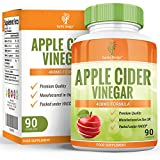 Apple Cider Vinegar 400mg - 90 Capsules (3 Month Supply) by Earths Design