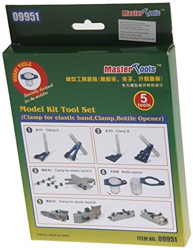Trumpeter Tools - Model Kit Tool Set (4 Clamps + Bottle Opener)