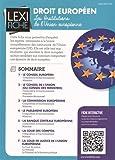 Droit européen - Les institutions de l'Union européenne