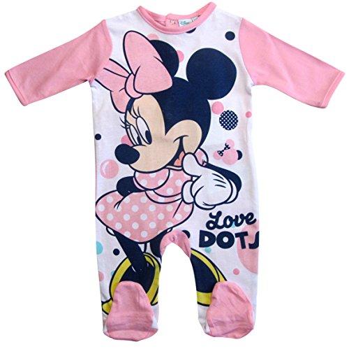 ion 2018 Strampelanzug 62 68 74 80 86 92 Strampler Einteiler Maus Disney Rosa (Rosa, 86 - 92) (Hello Kitty Baby-artikel)
