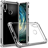 Tarkan Huawei P20 Lite Case - Shock Proof Protective Soft Transparent Back Cover [Bumper Corners with Air Cushion Technology]