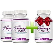 Revolyn Ultra - Diätpille für effektiven Gewichtsverlust | Kaufe 2 Flaschen und erhalte 1 gratis dazu | (3 Flaschen)