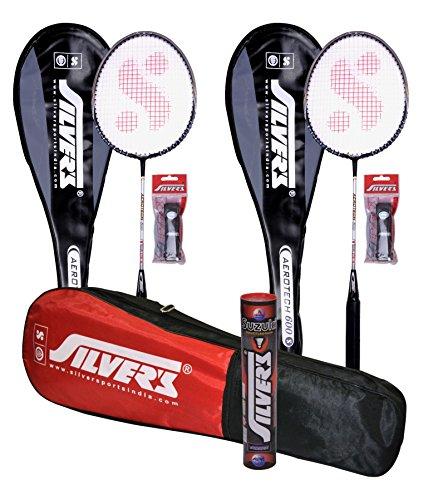 8. Silver's Combo Aerotech Badminton