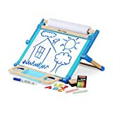 Melissa & Doug- Deluxe Double-Sided Tabletop Easel Caballete de Tablero Magnético (12790)
