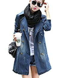 Suchergebnis auf f r jeansmantel damen for Jeanshemd damen lang