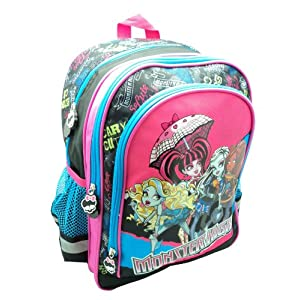 51TO2t8uxwL. SS300  - Monster High - Mochila 40 cm (Fantasy MT2001)