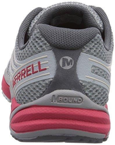 Merrell All Out Charge, Chaussures de randonnée basses homme Mehrfarbig (GREY/GERANIUM)