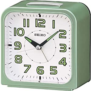 Seiko Alarm Clock Analogue QHK025M QHK025M