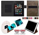 reboon Hülle für Amazon Kindle Fire HDX 8.9 Tasche Cover Case Bumper | in Braun Wildleder | Testsieger