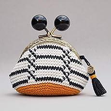 Monedero de mujer con boquilla tejido en crochet de estilo ...