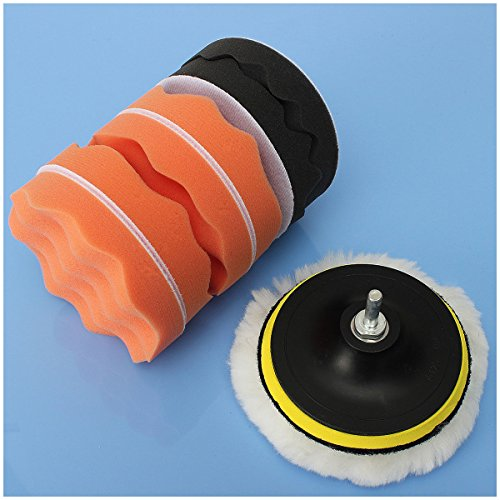 toogoo r 8pcs m10 4 voiture polissage eponge fartage pad ensemble 123autos. Black Bedroom Furniture Sets. Home Design Ideas