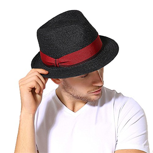 cappelli-di-paglia-cappello-trilby-uomo-donna-ragazzi-ragazze-retro-nastro-estate-cappello-di-sole-n