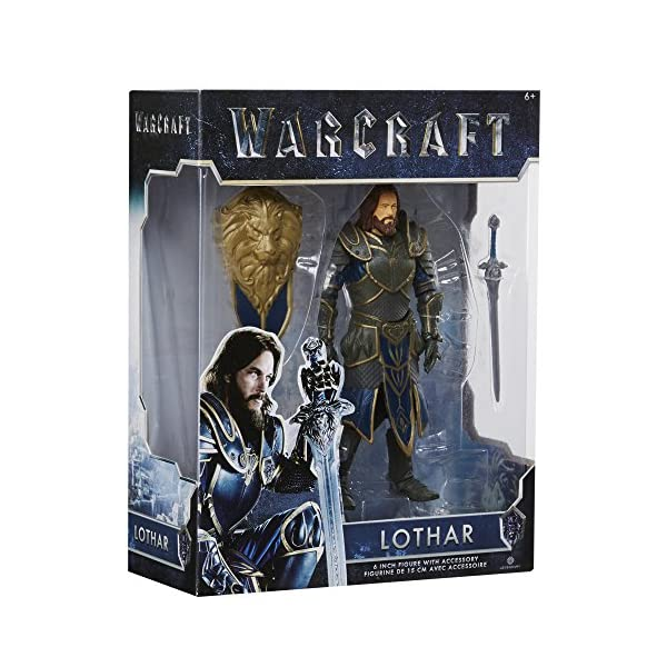 Warcraft 6 Lothar action Figure With Accessory by Warcraft 4