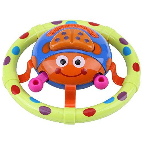 Baby musikalisches Spielzeug nettes Marienkäfer Baby Handgriff-Spielzeug mit dem gesunden Insekt Kind musikalischen Spielwaren die frühes pädagogisches Spielzeug für Kleinkind erlernen (Musikalisches Baby Spielzeug)