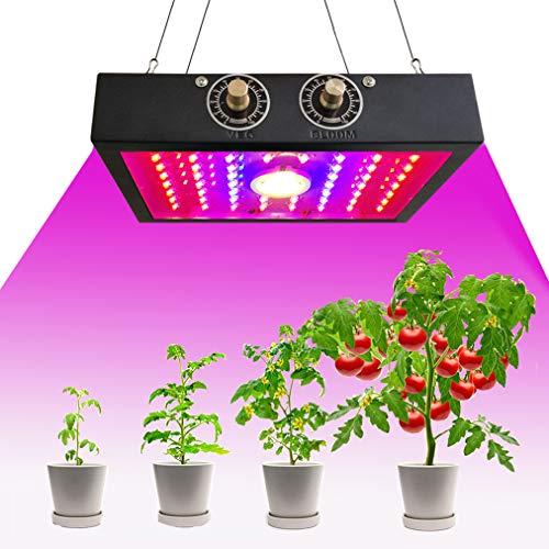 1200W LED Pflanze Wachsen Licht, Doppel-Chips Pflanzenlicht