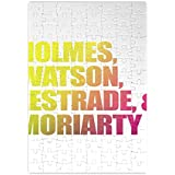 Holmes Watson Lestrade And Moriarty Jigsaw Puzzle labyrinthe Jigsaw Puzzle Maze| Unique And Custom Learning Games For Kids & Adults| Learning Made Fun With Custom Design & Printed Jigsaw Puzzles