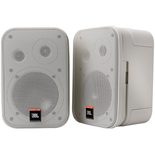 JBL Control 1 Miniatur-Lautsprecher, Pro High Performance, 150-Watt, Studio-Monitor weiß - System Jbl