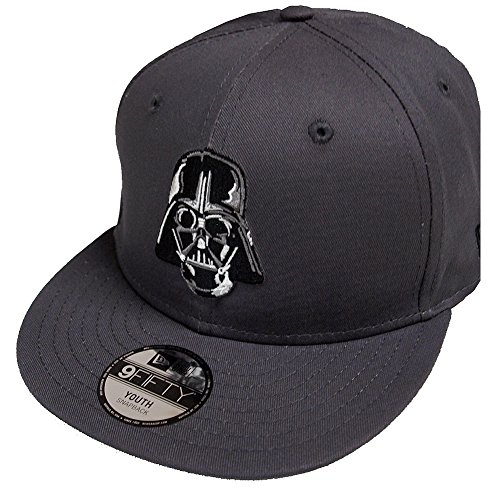 New Era Kindercap Star Wars ESS 9Fifty Snapback Cap Darth Vader Grau, Size:Youth