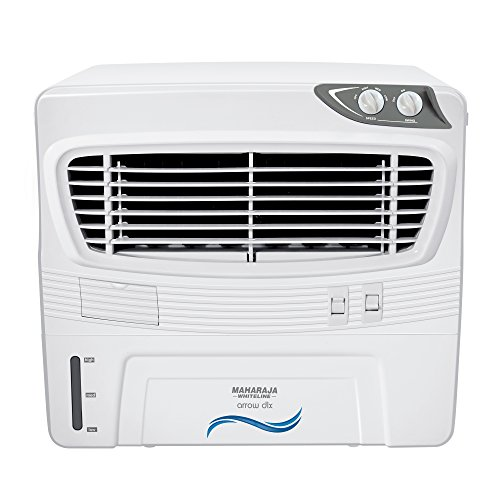 Maharaja Whiteline Arrow Dlx CO-124 50 L Air Cooler (White and Grey)