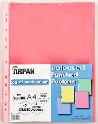 arpan-buste-di-plastica-resistente-perforate-con-apertura-in-alto-finitura-trasparente-formato-a4-a4