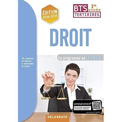 Droit BTS 1re année : Pochette élève