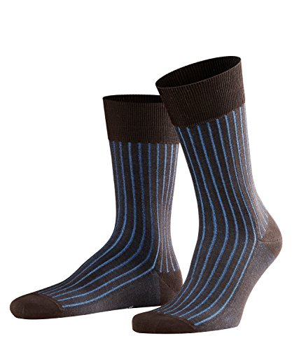 FALKE Herren Socken 14648 Shadow Business SO, Gr. 45/46, Braun (brown 5933) -
